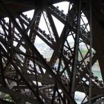 Paryžius. Eifelio bokštas.
