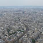 Paryžius. Panorama. Iš Eifelio bokšto.