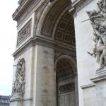 Paryžius. Triumfo arka.