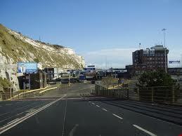 Taip atrodė ta Doverio uosto dalis iš kurios išėjau (irgi ne mano)