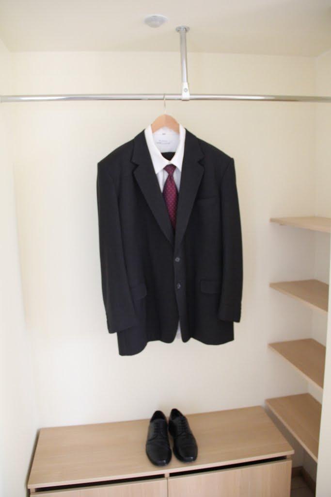 Algirdo Mykolo Brazausko kostiumas ir batai