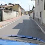 Mažo Italijos kaimo miestelio gatvelė