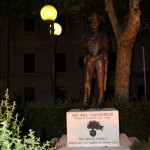 Skulptūra Italijoje Decenzano miestelyje
