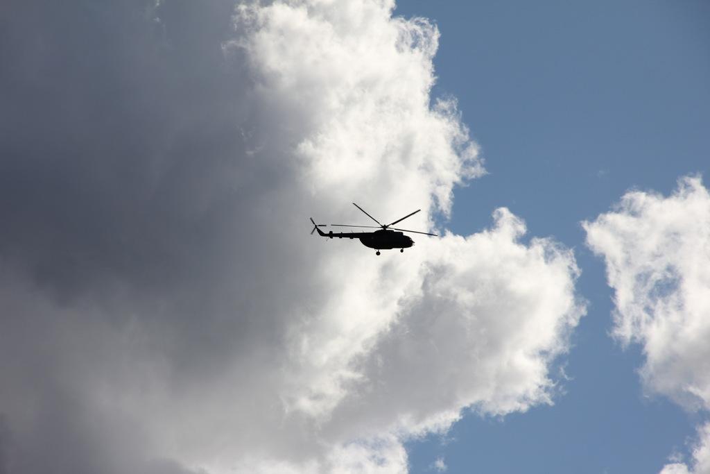 Sraigtasparnį pamačiau išlipęs iš automobilio prie Kaišiadorių r. švietimo ir kultūros paslaugų centro