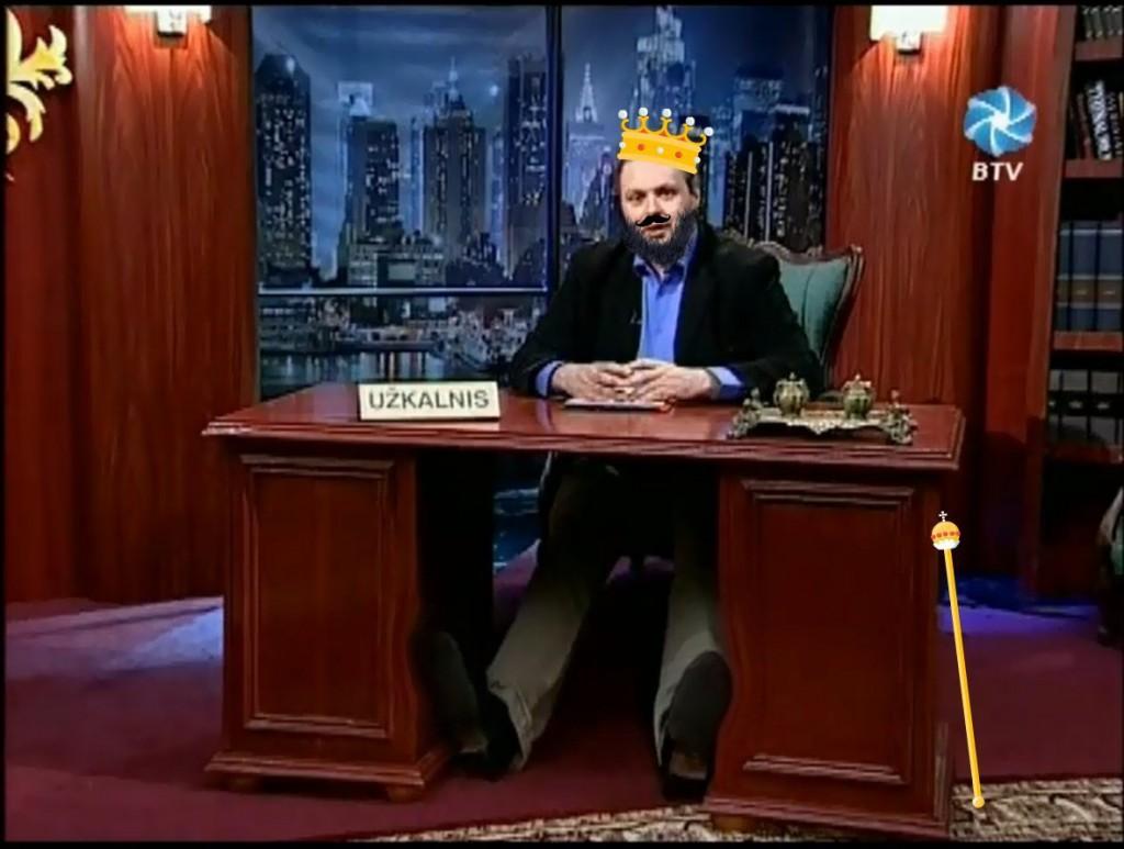 Andrius Užkalnis. Karalius