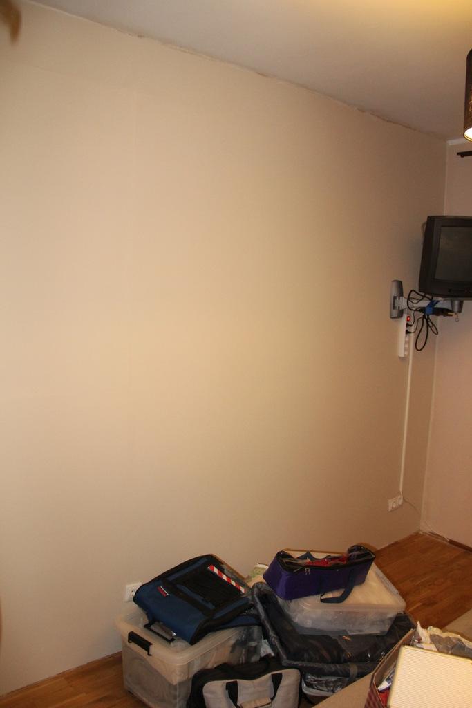 Štai taip atrodo televizorius kai viską užbaigėme