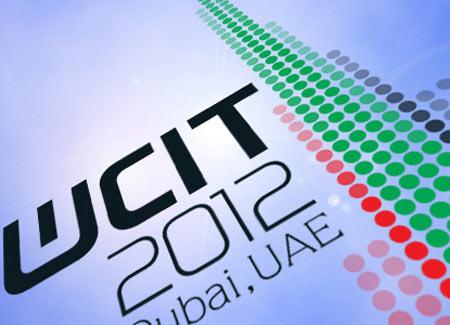 WCIT-12 logo iš ITU Interneto