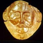 Pseudoistoriko avataras. Agamemnono kaukė. Matyt tam yra prasmė kažkokia.