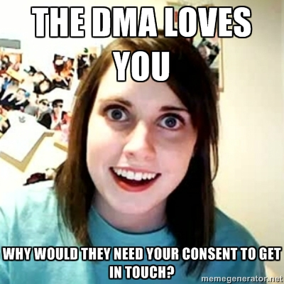 """DMA = Direct Marketing Agencies. Tai visokie """"keliauk pigiau"""" ir """"pirk šiandien, rytojaus nelauk"""" emeilai, SMS'ai ir kt."""