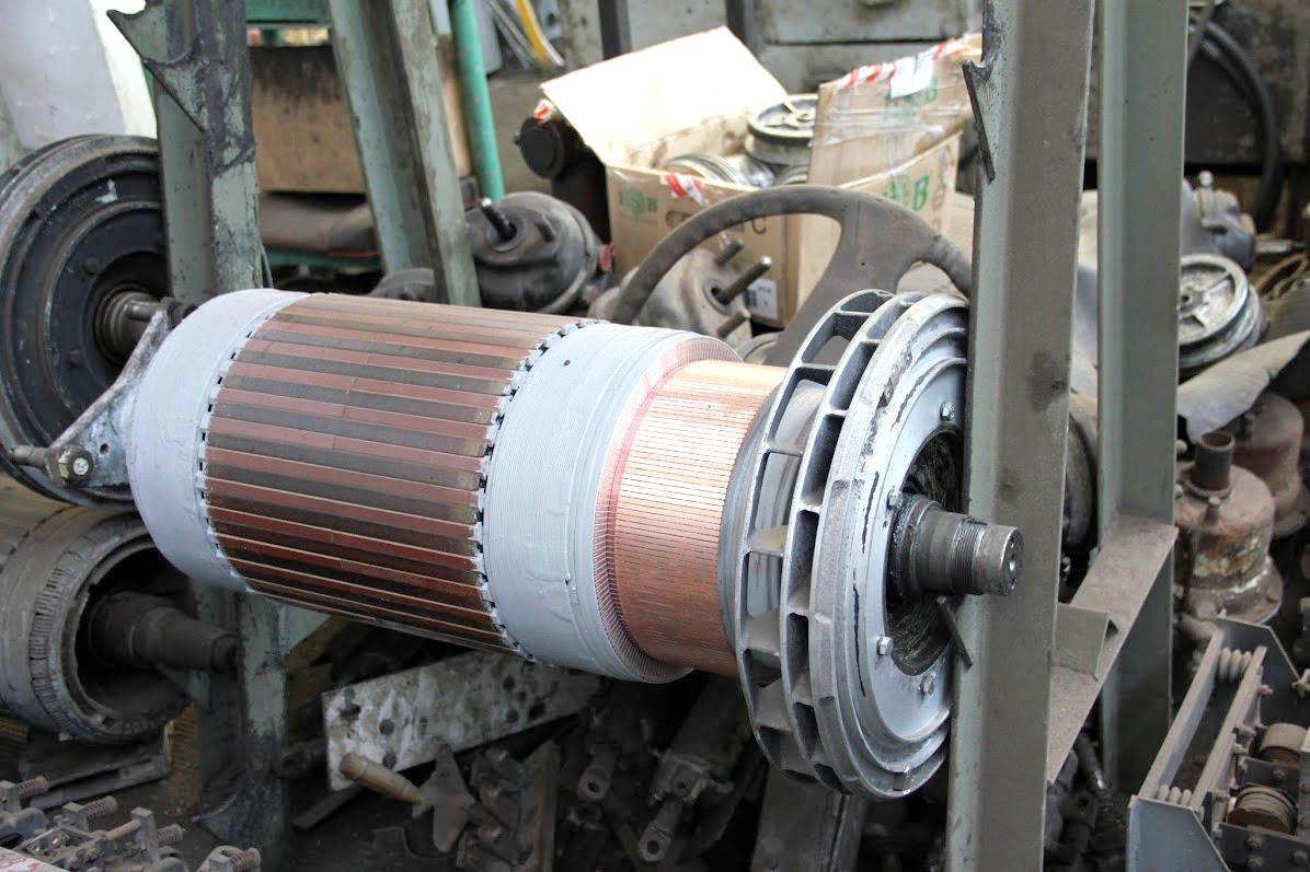 Variklio rotorius