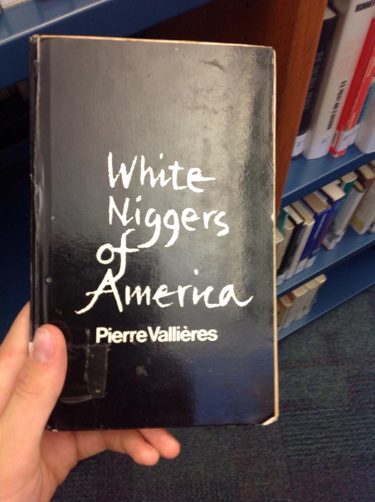 Apie baltuosius nigerius.