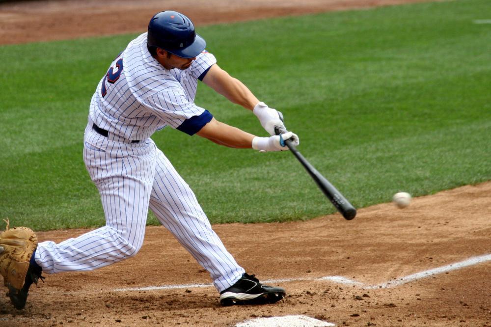 Kažkuo tas žaidimas primena beisbolą.