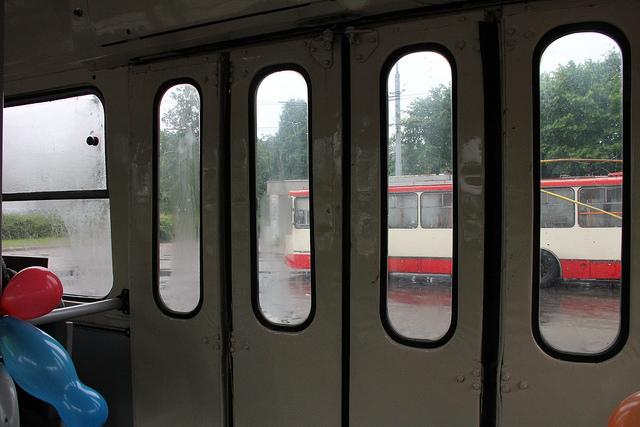 Pasivažinėjimas efektyviausia viešojo transporto priemone Vilniuje