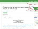 Spauskite ant paveiksliuko ir eikite į Lietuva 2.0 portalą. Įsiloginkite ir pasirašykite!