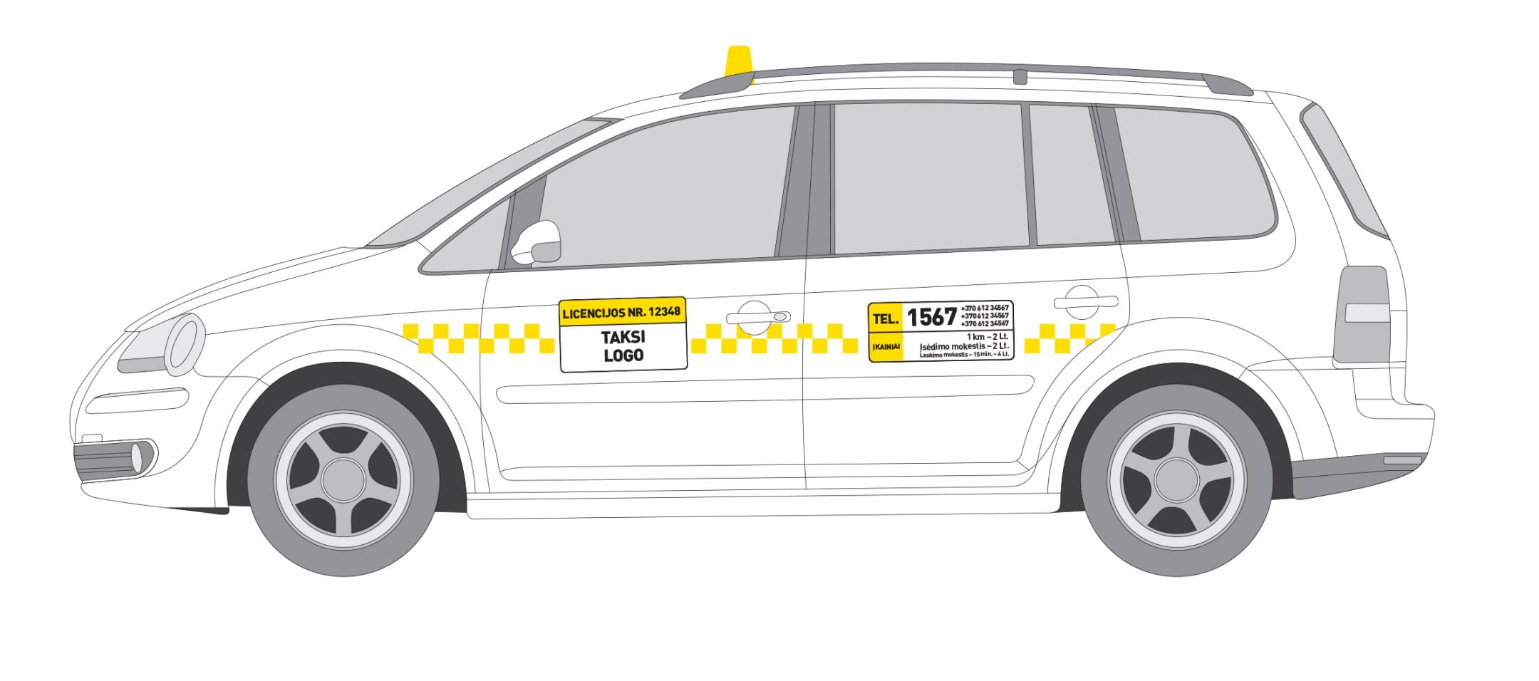 Apie taksi Vilniuje
